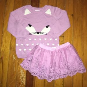 Purple Fox Set